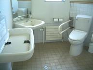 充実したトイレ