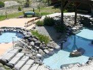 石造りの大浴場