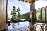 大自然が一望できる露天風呂