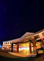 満天の星空を眺めて…