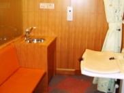 ベビーベットのある休憩室