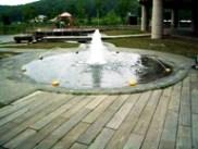 遊べる水場