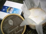 北海道産のチーズを使ったカマンベールチーズケーキ