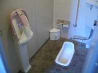 ベビーチェア付トイレ