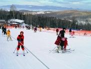 初めてのスキー練習に最適!